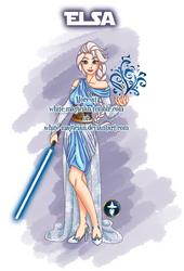 Jedi Disney Princess Elsa by White-Magician