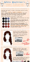 Tutorial: Hair (semi-realistic) by White-Magician