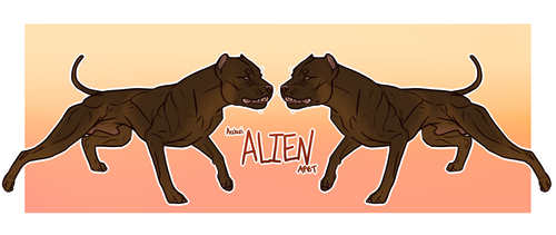 Archer's Alien WPCh NDJ NSP by spacepitbull