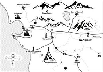 Map - Atomic Clover by Mavka-2i48398928a