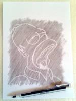 Homer Simpson by emiliosan