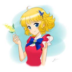 Lulu the Flower Angel by emiliosan