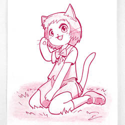 Haru from The Cat Returns by emiliosan