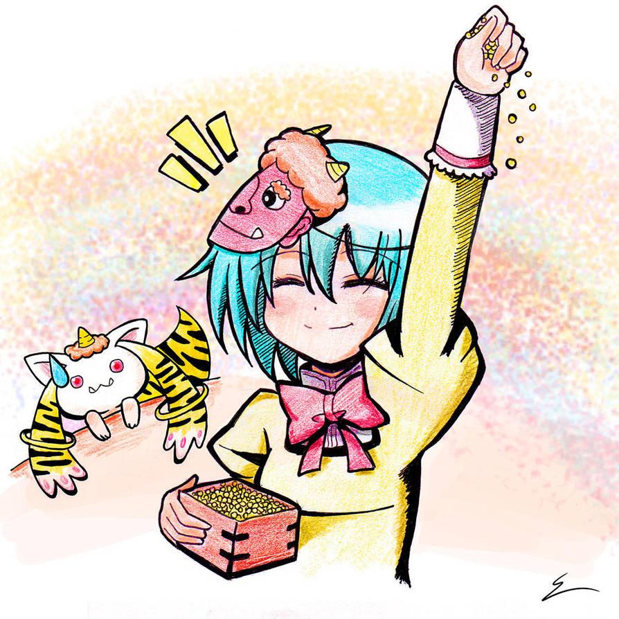 Setsubun! by emiliosan