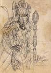 Contest Entry: Fataneh, The Mage Hulder Princess by AsahinaX