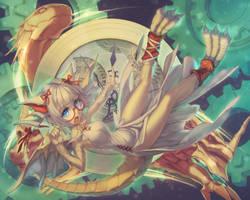 Star Cutting Time Dragonbound, Myr by Rotix102