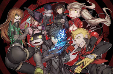Phantom Thieves of Hearts by Rotix102