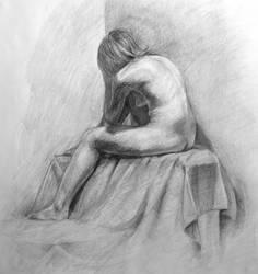 Figure Drawing II by Schlady