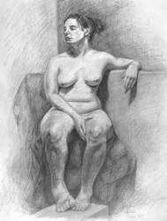 Figure Drawing III by Schlady