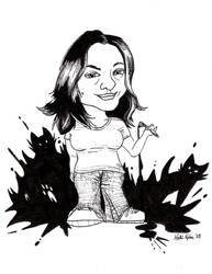 Self Caricature by Schlady