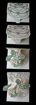 Wedding Cake Surprise by Schlady