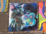 Goodbye Catmen - Cleveland Chalk Festival 2017 by Schlady