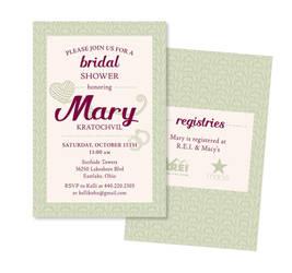 Bridal Shower Invite by Schlady