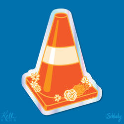 Cone in Bloom by Schlady