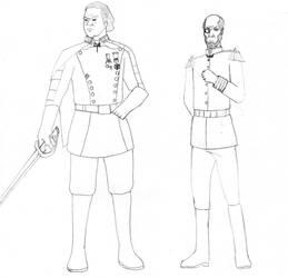 My Final Fantasy Kelmark Officers by avenger09