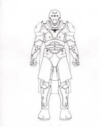 My Final Fantasy White Knight Aquila Armor by avenger09
