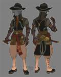 ninja cowboy elf :p by questionstar
