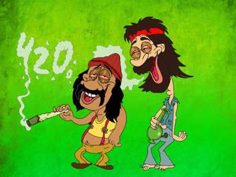 Happy 420 by Makinita