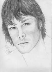 Jared Padalecki by uh-whatsthat