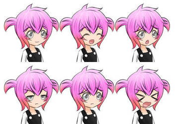 Petronille Small Expression Sheet 01 by Daheji