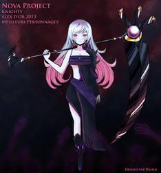 Nova Project - Alex d'Or 2013 - Personnages by Daheji