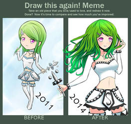 Draw this again - 2011 - 2014 by Daheji