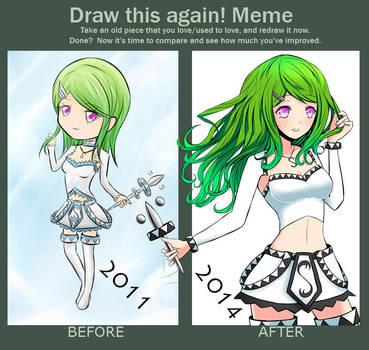 Draw this again - 2011 - 2014 by Daheji