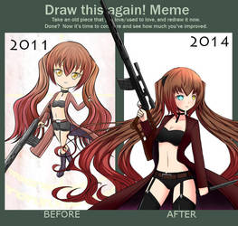 Draw this again Perrine 2011 - 2014 by Daheji