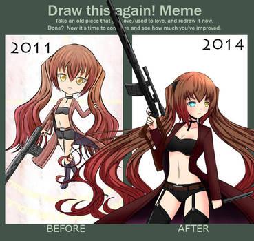 Draw this again Perrine 2011 - 2014 by Daheji