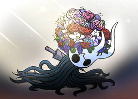 Hollow Knight - Flower Vessel by Daheji