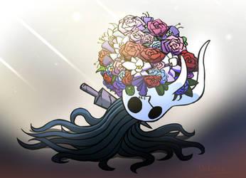 Hollow Knight - Flower Vessel by Daheji