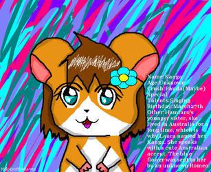 Kanga:My Hamtaro OC by MelodyoftheRaven