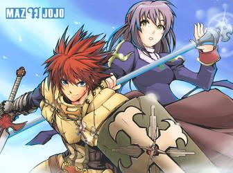 Fan Arts : Episode 4 Ragnarok by mazjojo