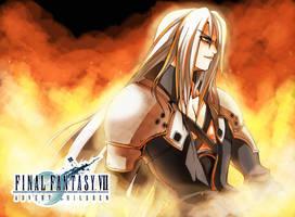 FA12 : FFVII AC, Sephiroth by mazjojo