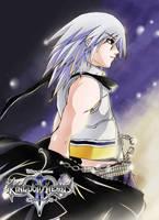 FA13: Kingdom Hearts, Riku by mazjojo