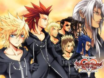 :Kingdom Hearts : 358-2 Days: by mazjojo