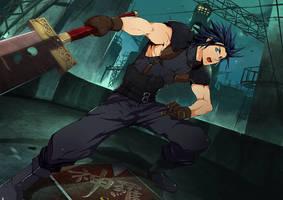 Commission: Zack's Encounter by mazjojo