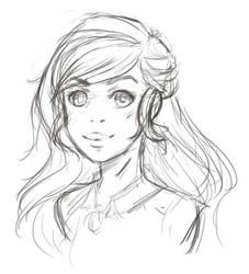 Alannis sketch by twimbre