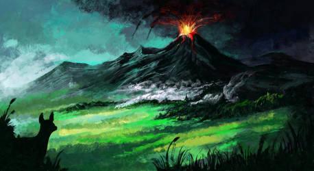 Volcano by Casselloma
