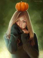 Pumpkin Head by DeargDoom