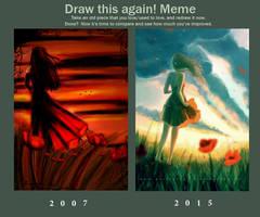 Draw this again! Meme by mohn-blume