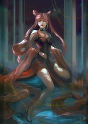 Black Lady by mohn-blume