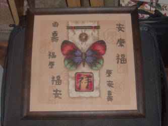 Butterfly Counted Cross Stitch by ladytremere85