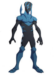 Bluebeetle by jusdog