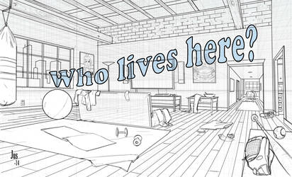 Who lives here? by jusdog