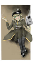 Insert Army Related Pun Here. by badly-shaded