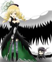 Mami Tomoe ( Demon Form ) by HaxusSora97