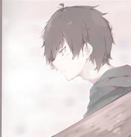 Boy [+SPEEDPAINT] by ameyuu