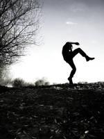 man in black by shylina