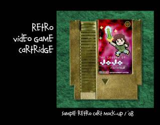 Mock NES Cartridge by ixis
